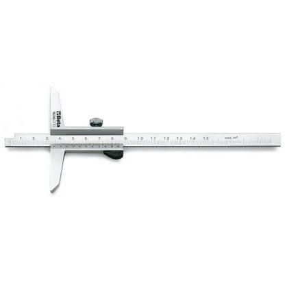 Beta 1656 Mélységmérő rozsdamentes acélból, tokban, pontosság 0.02 mm