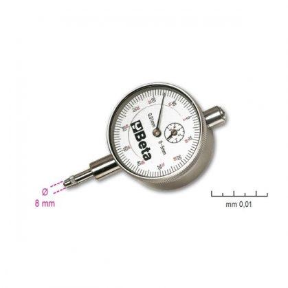 Beta 1662/1 - 1662/2 Mérőóra, kemény műanyag dobozban, pontosság 0.01 mm
