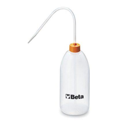 Beta 1757 Desztillált víz tartó flakon, műanyagból