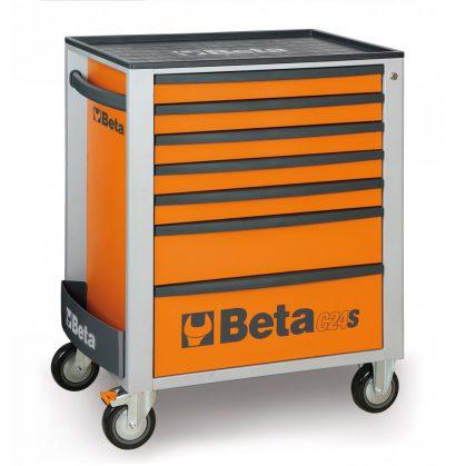 Beta 2400S-7/E-M Beta EASY 7 fiókos szerszámkocsi 210 darabos szerszámkészlettel