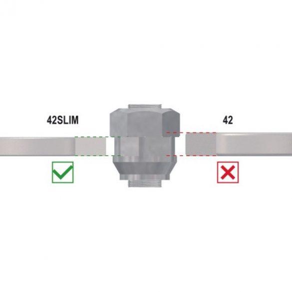 Beta 42SLIM/B8E 8 részes vékonyított  végű csillag-villáskulcs készlet