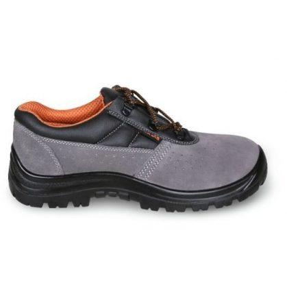 Beta 7246BK BASIC Perforált hasított bőr cipő