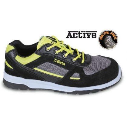 Beta 7314AF SNEAKERS Perforált hasított bőr cipő nylon mesh és karbon betétekkel