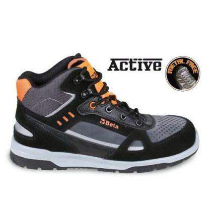 Beta 7318AN Sneakers Hasított bőr és mikorszálas bokacipő mérsékelten vízálló, karbon betétekkel