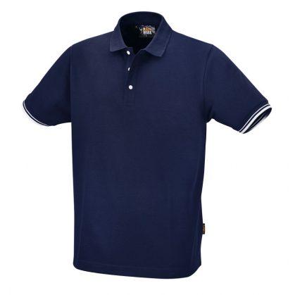 Beta 7547BL Három gombos pólóing, 100% pamut, 200 g/m2, kék
