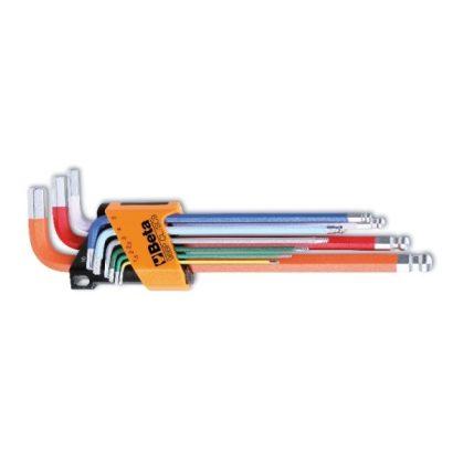 Beta 96BP-CL/SC9 színes imbuszkulcs készlet