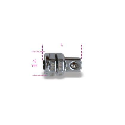 """Beta 123Q1/4 Adapter gyorscsatlakozóval 1/4"""" 10 mm-es racsniskulcshoz 10"""