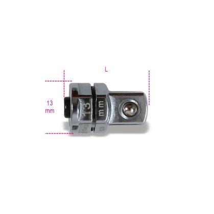 """Beta 123Q3/8 Adapter gyorscsatlakozóval 3/8"""" 13 mm-es racsniskulcshoz 13"""
