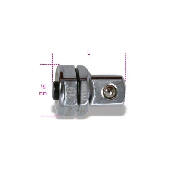"""Beta 123Q1/2 Adapter gyorscsatlakozóval 1/2"""" 19 mm-es racsniskulcshoz 19"""