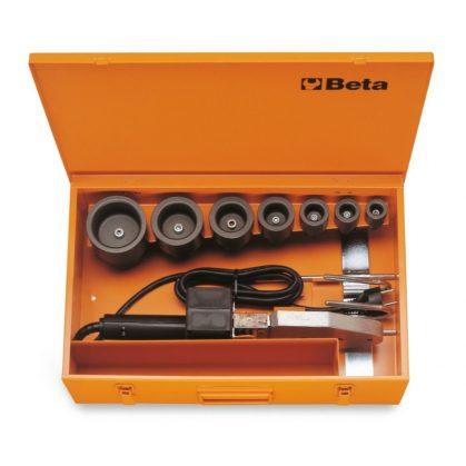Beta 310/C8 Csőhegesztő 7 idommal, fémdobozban