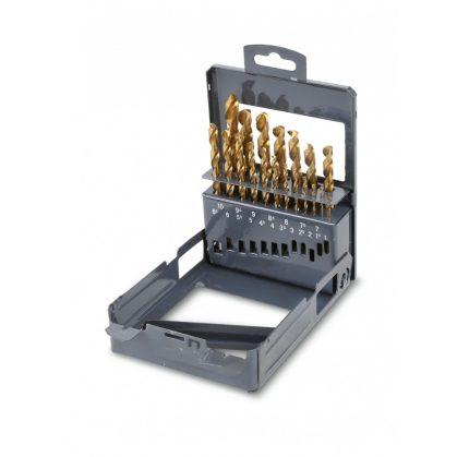 414/SP19 rövid csigafúró szerszám készlet kofferban