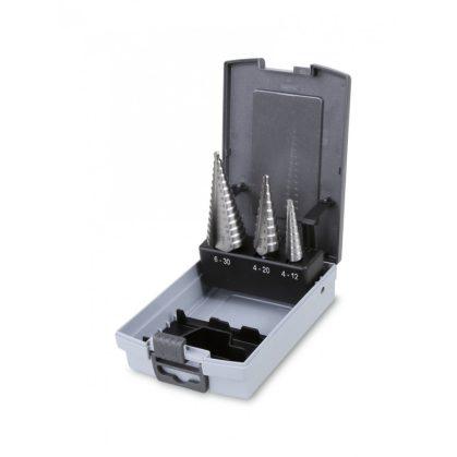 Beta 425/SP3 lépcsős lemezfúró szerszám készlet kofferben
