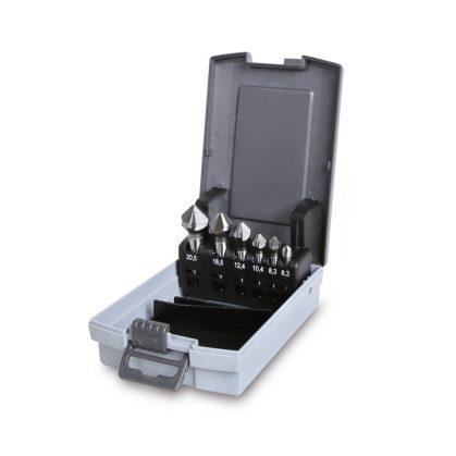 Beta 426/SP6 süllyesztő maró három vágóéllel szerszám készlet kofferban