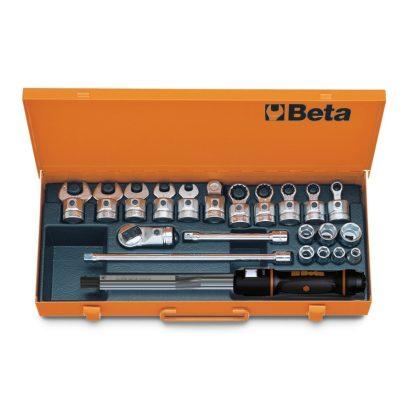Beta 671N/C10 668N/10 hengeres nyomatékkulcs és tartozékai