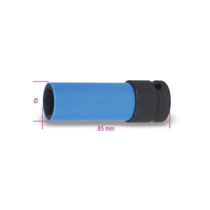 Beta 720LC Gépi dugókulcs kerékanyákhoz színes polimer betétekkel