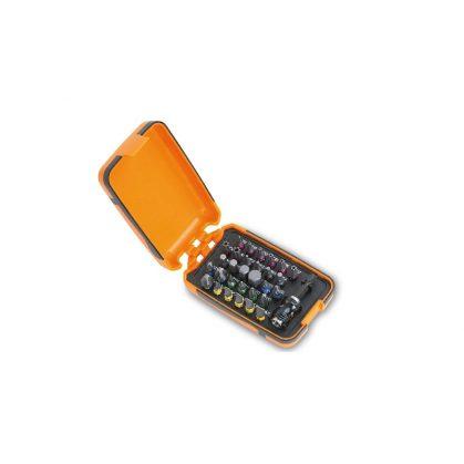 Beta 860MIX/A31 30 csavarhúzóbetét és mágneses betéttartó, műanyag dobozban