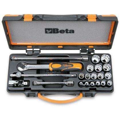 Beta 910B/C16 16 dugókulcs és 5 tartozék fémdobozban