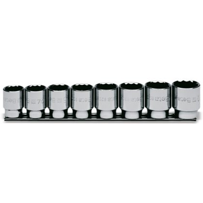 Beta 920B/SB8 8 részes tizenkétszögű dugókulcs szerszám készlet (920B cikk) tartón