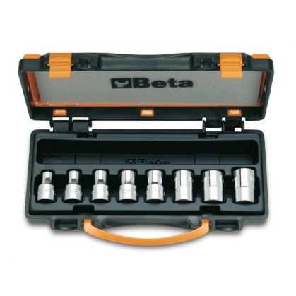 Beta 920FTX/C8 8 részes dugókulcs szerszám készlet Torx®-csavarokhoz (920FTX cikk) kofferban