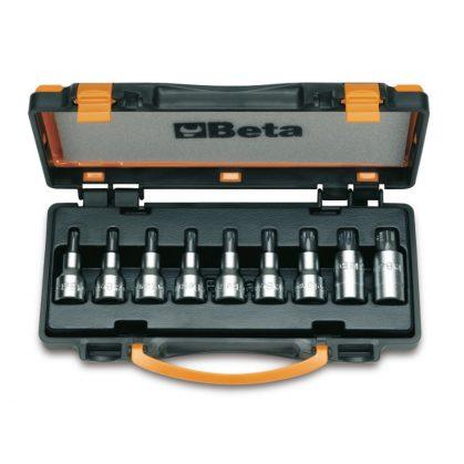Beta 920TX/C9 9 részes imbusz-dugókulcs szerszám készlet Torx®-csavarokhoz (920TX cikk) kofferban