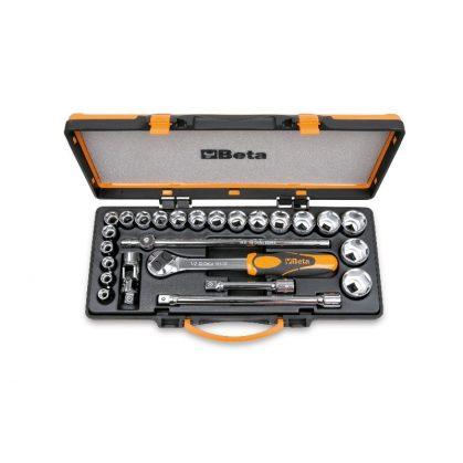 Beta 920A/C20 20 dugókulcs és 5 tartozék fémdobozban