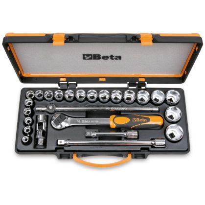 Beta 920A/C20X 20 dugókulcs és 5 tartozék fémdobozban