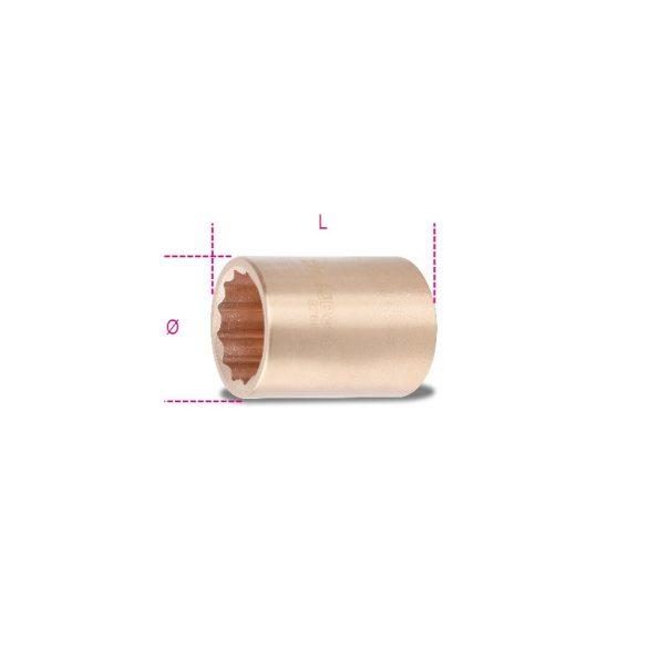 Beta 926BA 24 Tizenkétszögű dugókulcs, szikramentes