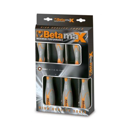 Beta 943BX/D6 6 részes dugókulcs-csavarhúzó szerszám készlet bi-materiál nyéllel