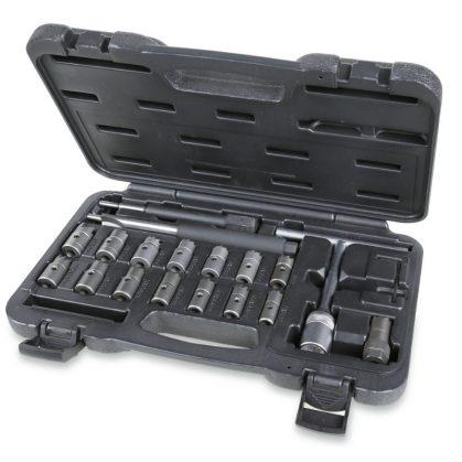 960PI/C19 19 darabos szerszámkészlet befecskendező fészkek tisztításához