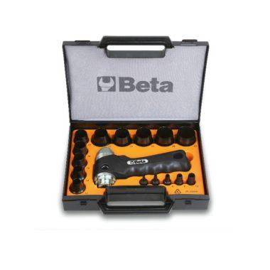 Beta 1105C/15T 15 darabos tömítéskivágó készlet Ø 3-30 mm
