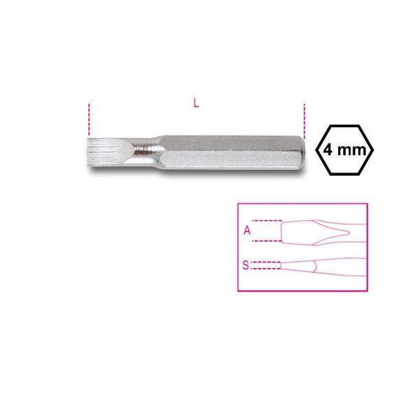Beta 1256LP Csavarhúzóbetét 4 mm hasítottfejű csavarokhoz
