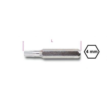 Beta 1256RTX Csavarhúzóbetét 4 mm Tamper Resistant Torx®-csavarokhoz