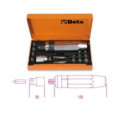 Beta 1295/C14 Ütvecsavarhúzó készlet 14 betéttel és betéttartóval