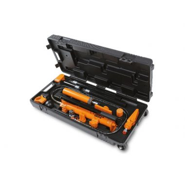 Beta 1365/K13 10 t hidrodinamikus szivattyú és tartozék készlet karosszéria javításhoz praktikus húzható táskában