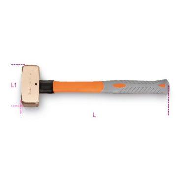 Beta 1380BA/PL Szikramentes ráverő kalapács, műanyag nyéllel