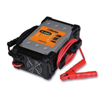 1498/30A Elektronikus akkumulátor töltő többfunkciós, 6-12-24 Volt