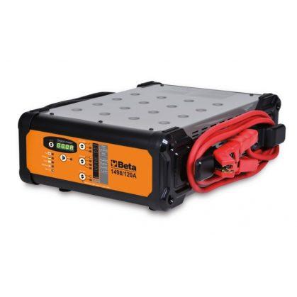 Beta 1498/120A elektronikus akkumulátor töltő többfunkciós, 12 Volt