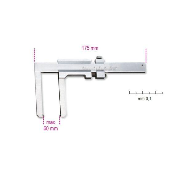 Beta 1650FD Tolómérő féktárcsához, rozsdamentes acélból, pontosság 0.1 mm