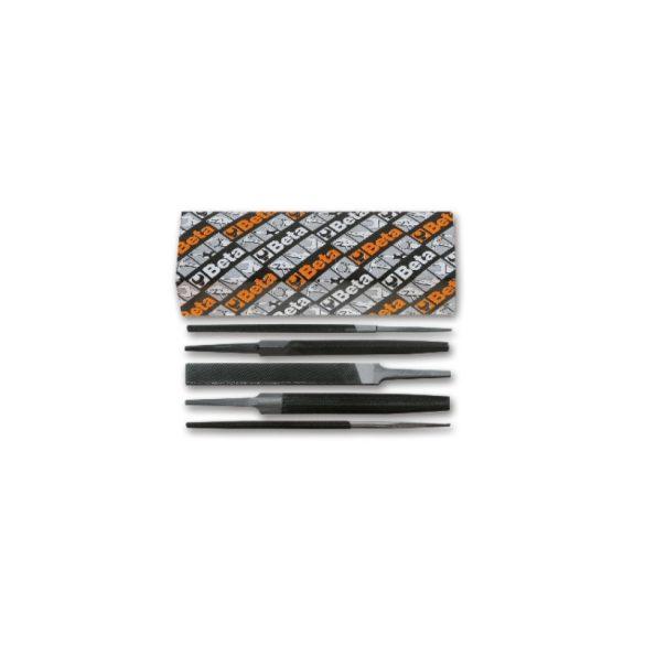 1718A8/S5 5 darabos egyengető reszelő készlet markolat nélkül