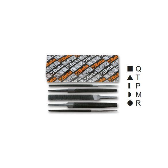 1718D6/S5 5 darabos nagyoló reszelő készlet markolat nélkül