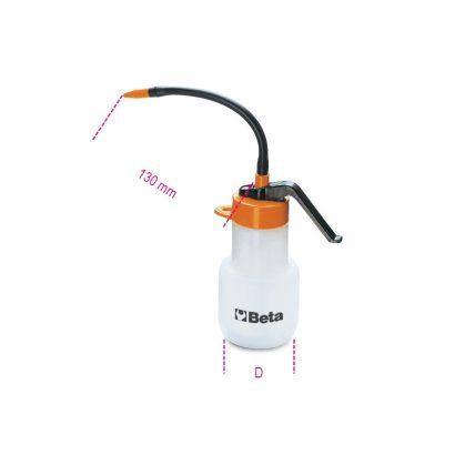 Beta 1754 Pumpás olajozó műanyag kanna, flexibilis, műanyag csővel