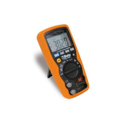 Beta 1760/RMS Ipari digitális multiméter pontos és robusztus, extrém körülmények között használható, 6 mm-es csúszás- és ütésálló külső gumiburkolattal