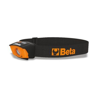 Beta 1836A Kettős fényű, és érintkező nélküli BE/KI érzékelős LED fejlámpa