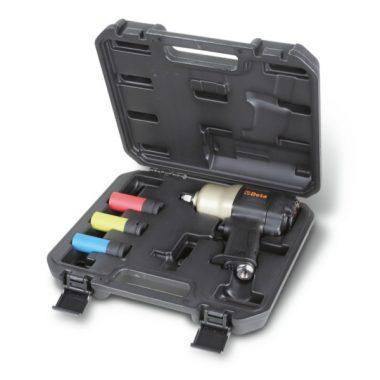 """Beta 1927CD/K3 Irányváltós csavarbehajtó és három gépi dugókulcs készlet 1/2""""  1020Nm"""