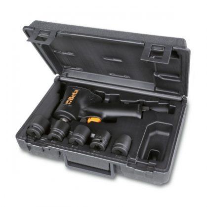 """Beta 1927XM/K5 Irányváltós kompakt csavarbehajtó és 5 gépi dugókulcs készlet műanyag táskában 1/2""""  770Nm"""