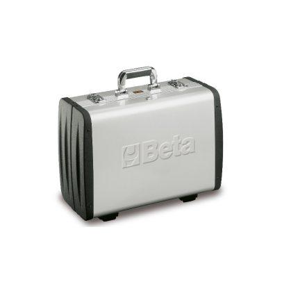 Beta 2033 P/VV Alumínium műszerésztáska, ABS-műanyag falú, üres