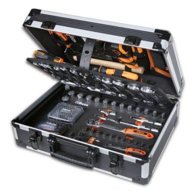 Beta 2056E/E-20 EASY 163 darabos szerszámkészlet táskában, általános karbantartáshoz ÚJ Evox!