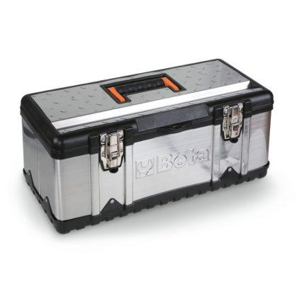 Beta CP17 Szerszámos láda acéllemezből és műanyagból, betéttel, üresen