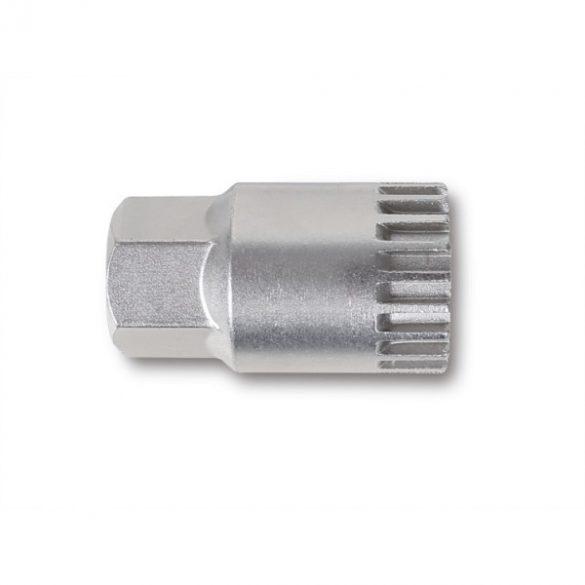 """Beta 3973/4 Lehúzó dugókulcs 20 bordás hajtóműhöz nikkelezett központi csappal 1/2"""""""