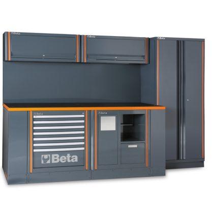 Beta C55AB műhelyberendezés összeállítás RSC55